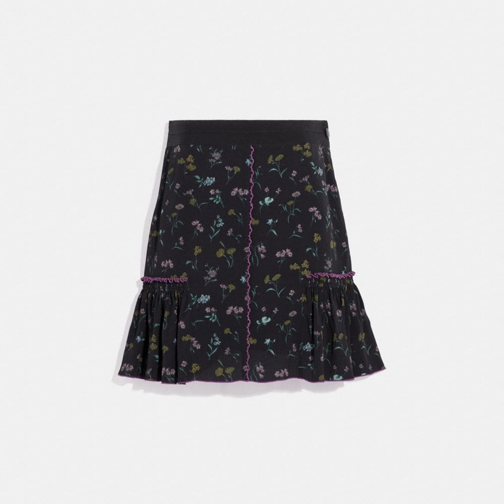 Coach Printed Skirt