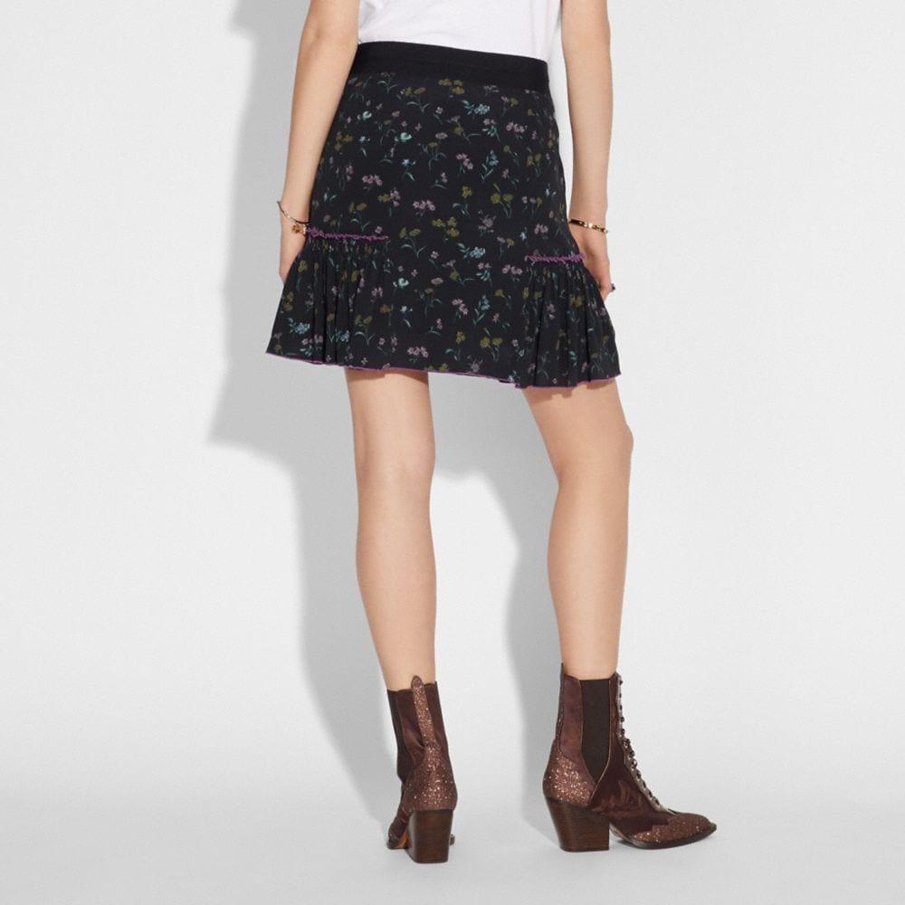 Coach Printed Skirt Alternate View 2