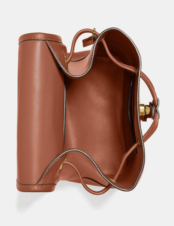 Coach Turnlock Backpack Brass/1941 Saddle New Featured The Coach Originals Alternate View 2