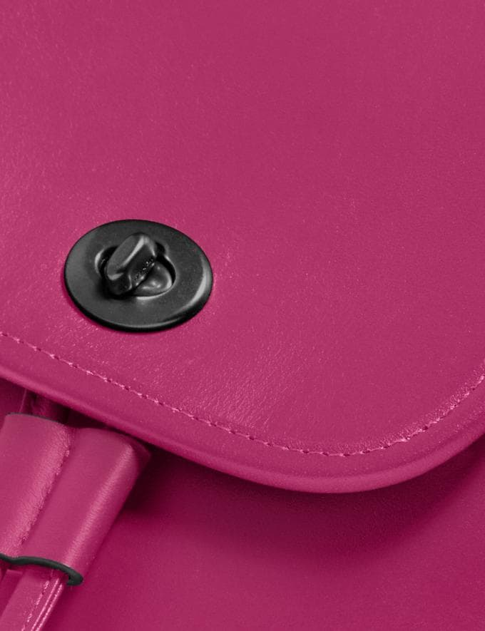 Coach Turnlock Backpack Pewter/Cerise New Featured The Coach Originals Alternate View 3