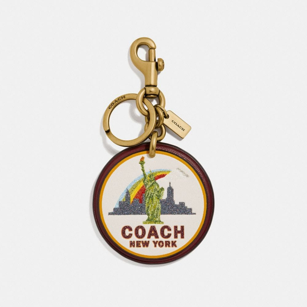 COACH NEW YORK BAG CHARM - WOMEN'S