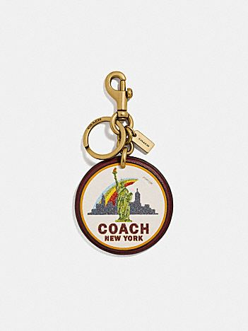 new york bag charm