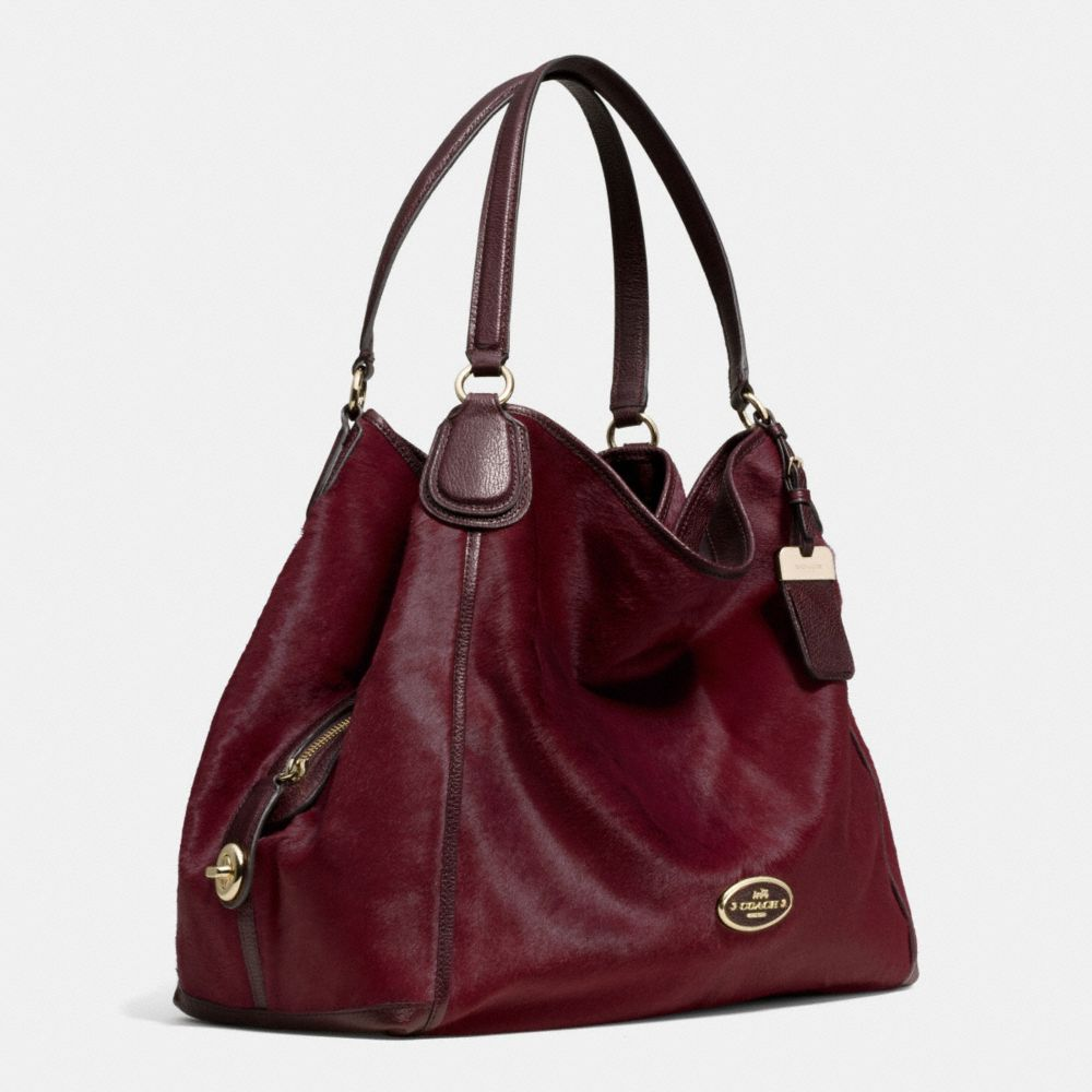 LARGE EDIE SHOULDER BAG IN HAIRCALF - Autres affichages A2