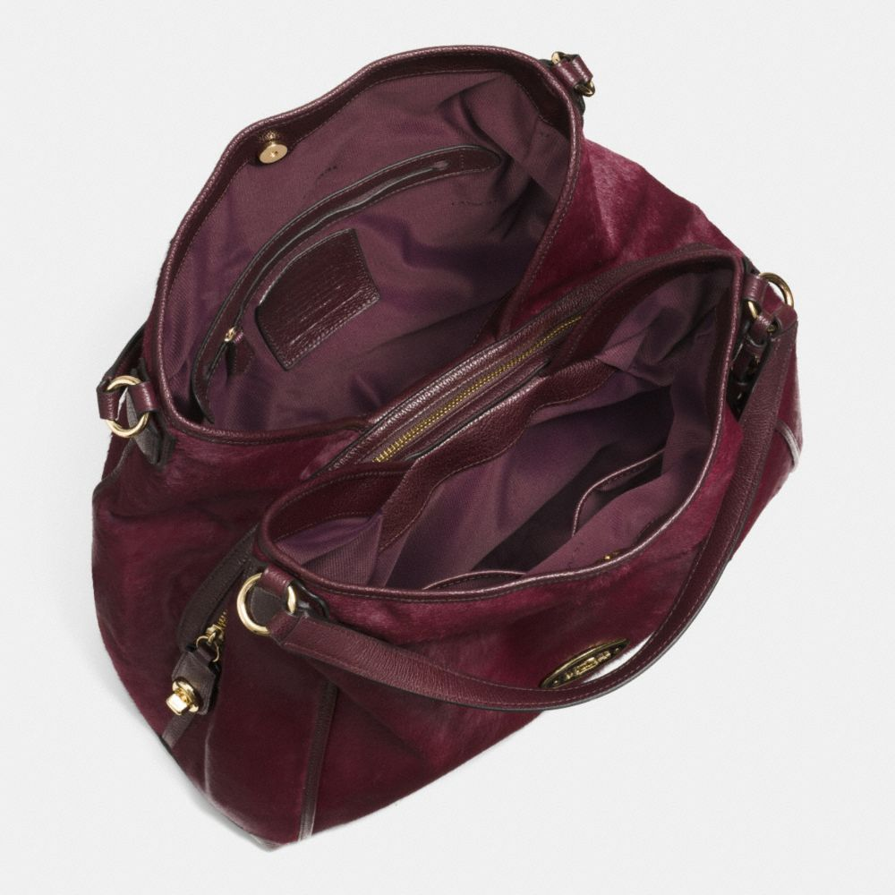 LARGE EDIE SHOULDER BAG IN HAIRCALF - Autres affichages A3