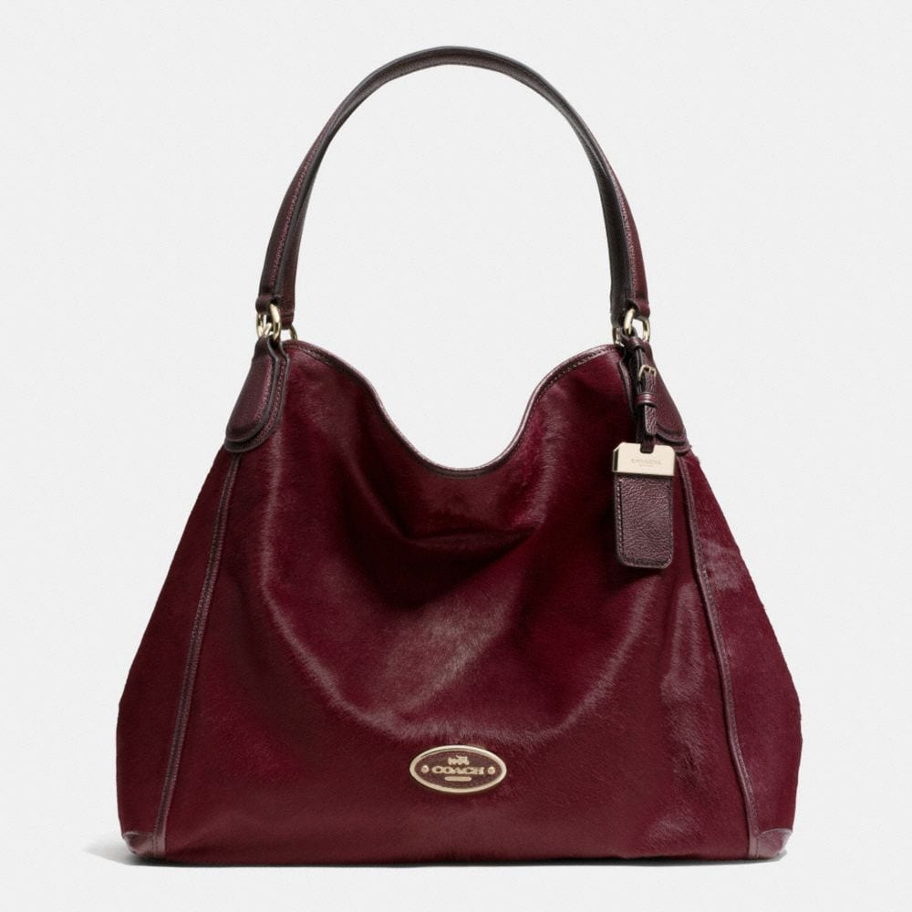 Large Edie Shoulder Bag in Haircalf