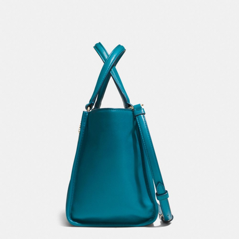 CROSBY MINI CARRYALL IN SMOOTH LEATHER - Alternate View A1