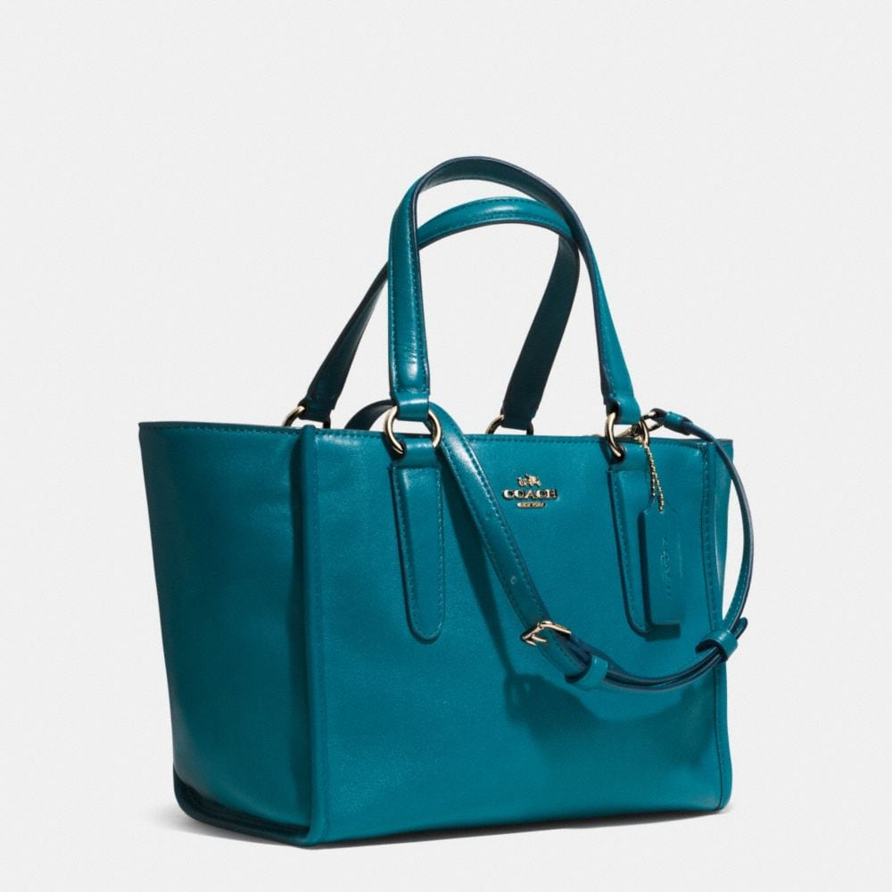 CROSBY MINI CARRYALL IN SMOOTH LEATHER - Alternate View A2