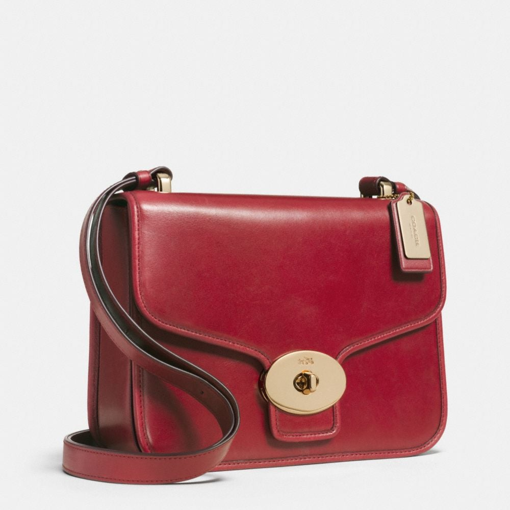Page Shoulder Bag in Leather - Alternate View A2