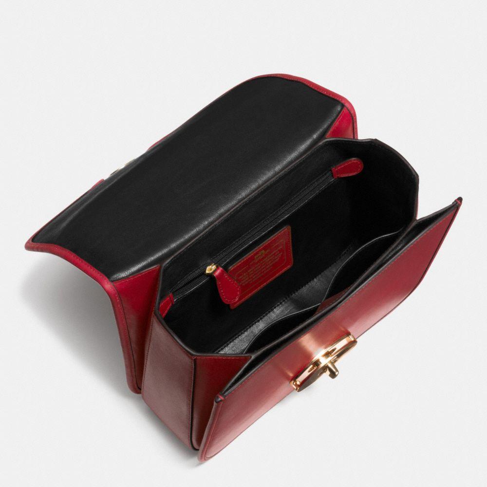Page Shoulder Bag in Leather - Autres affichages A3