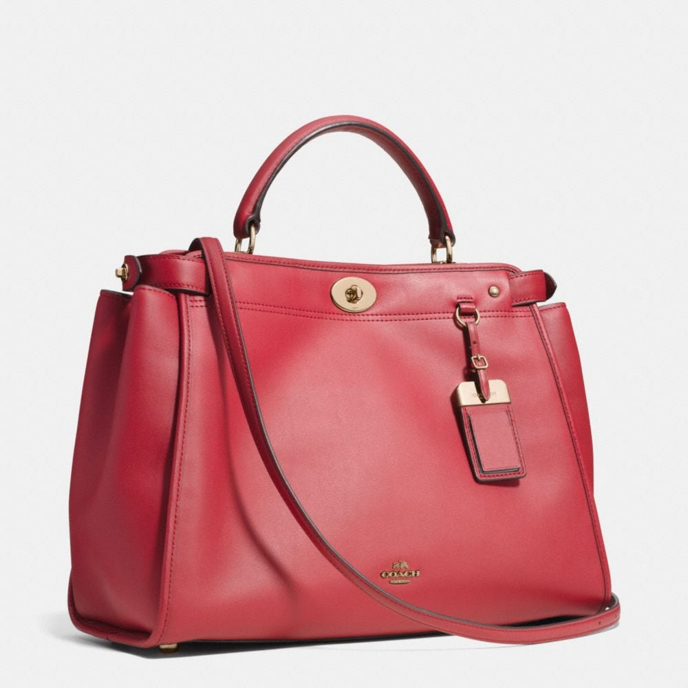 Gramercy Satchel in Leather - Alternate View A2