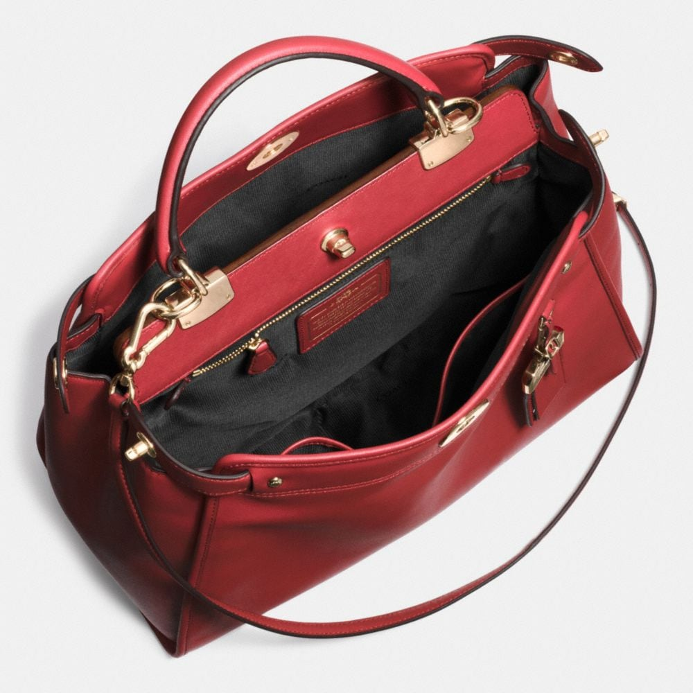 Gramercy Satchel in Leather - Alternate View A3