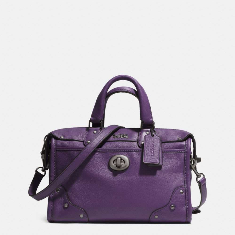 Rhyder 24 Satchel in Leather