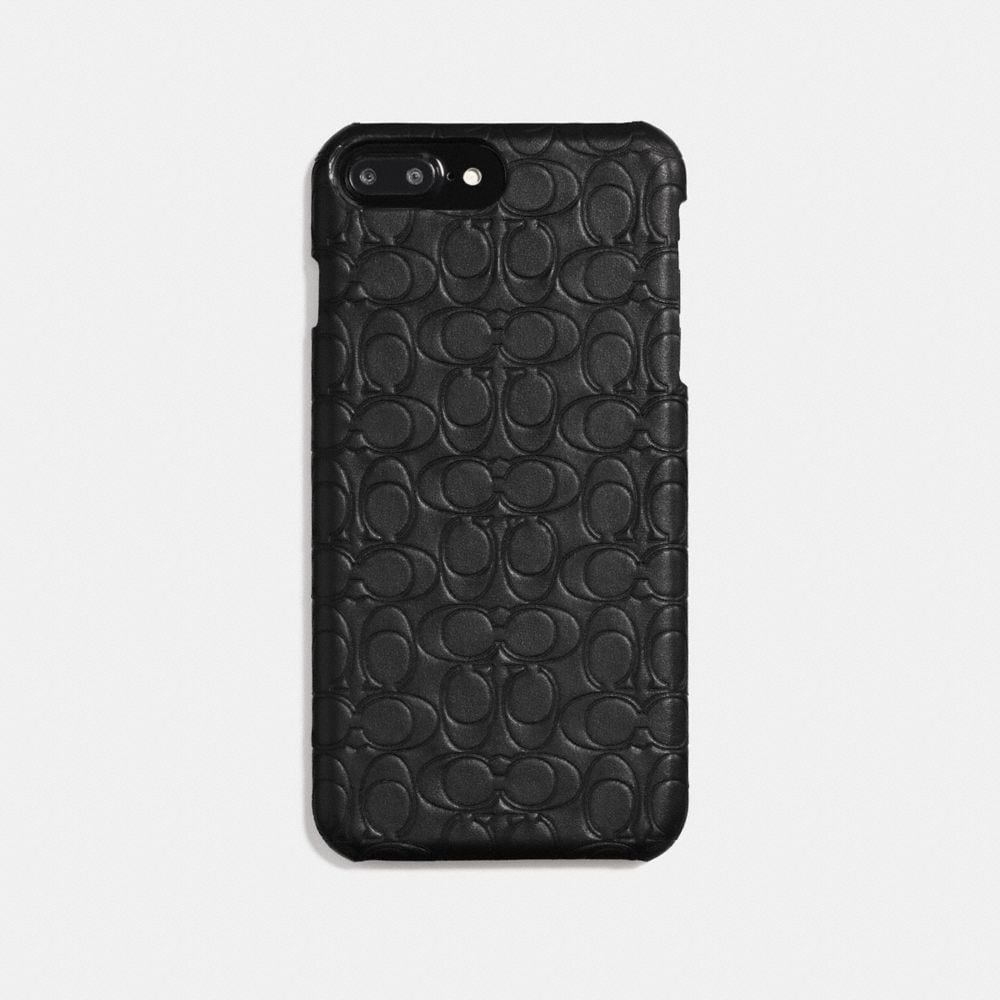 IPHONE 8 PLUS CASE IN SIGNATURE LEATHER