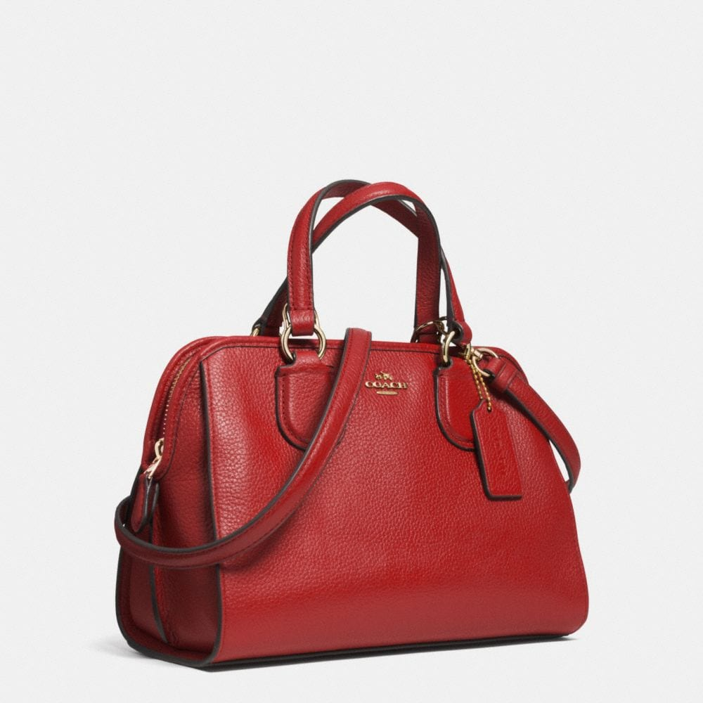 Mini Nolita Satchel in Polished Pebble Leather - Alternate View A2