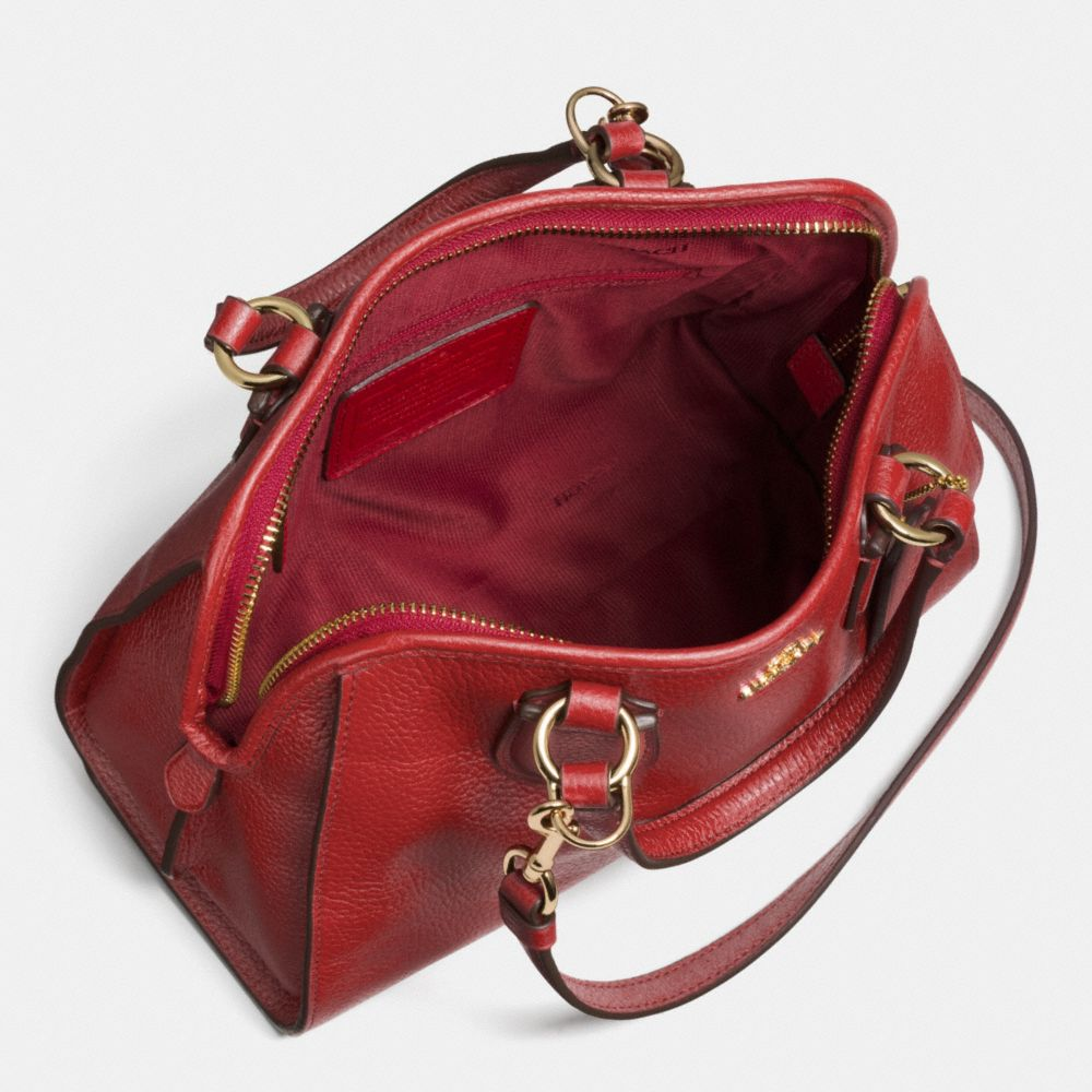 Mini Nolita Satchel in Polished Pebble Leather - Alternate View A3