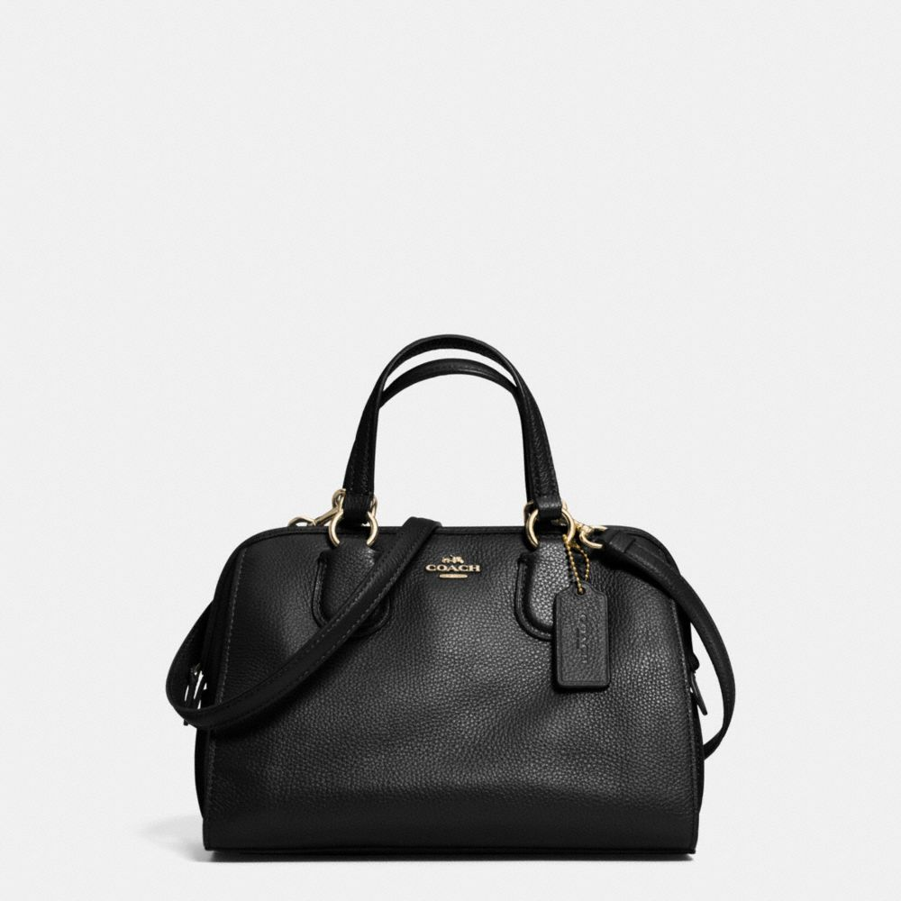 Mini Nolita Satchel in Polished Pebble Leather
