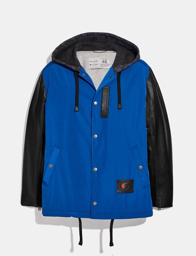 Coach Coach X Champion Coaches Jacket Blue/Black