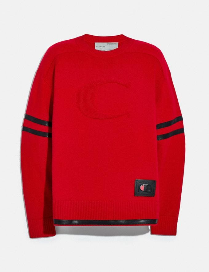 Coach Pull Football Coach X Champion Rouge