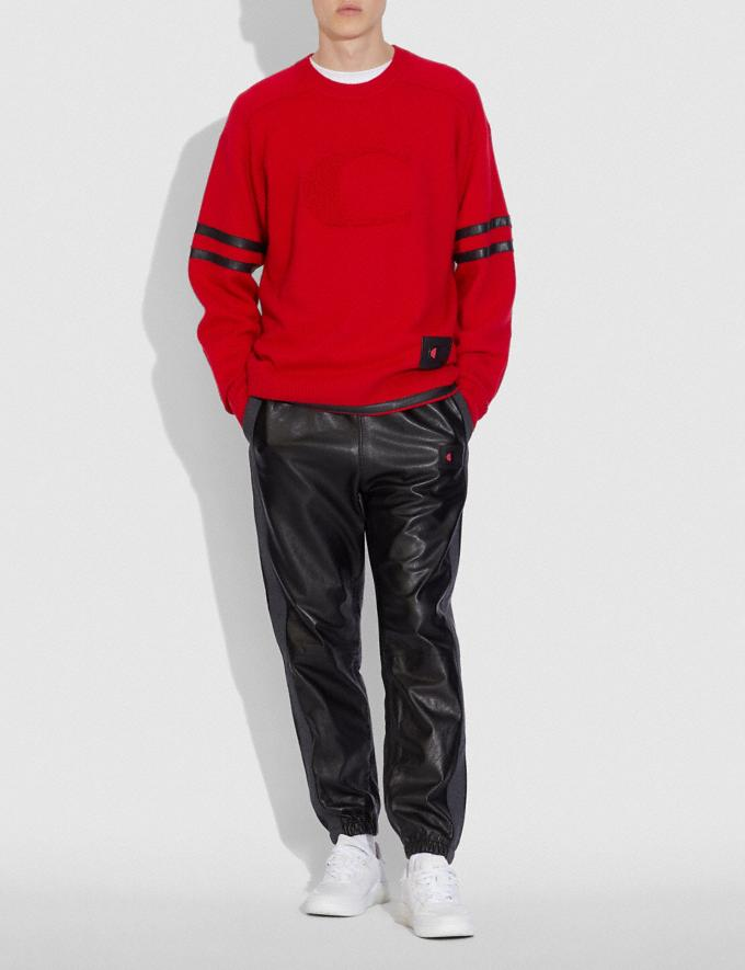 Coach Pull Football Coach X Champion Rouge  Autres affichages 1