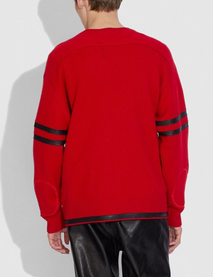 Coach Pull Football Coach X Champion Rouge  Autres affichages 2