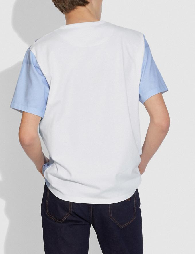 Coach Camiseta Coach X Champion Azul/Blanco  Vistas alternativas 2
