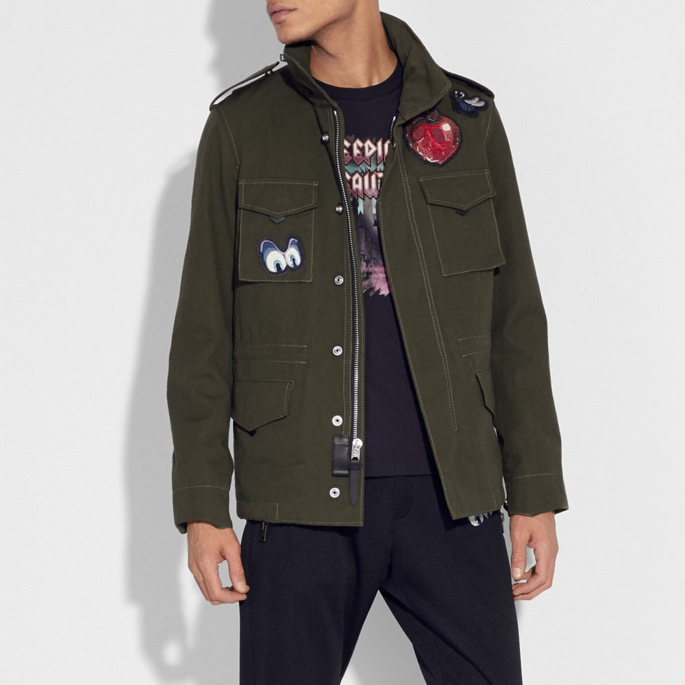 DISNEY X COACH SKULL M65 JACKET