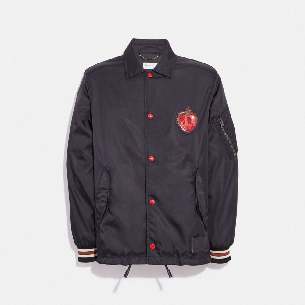 DISNEY X COACH POISON APPLE COACH'S JACKET