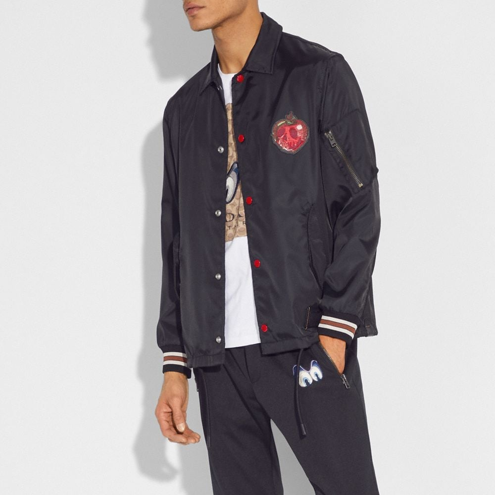 Coach Disney X Coach Poison Apple Coach'S Jacket Alternate View 1