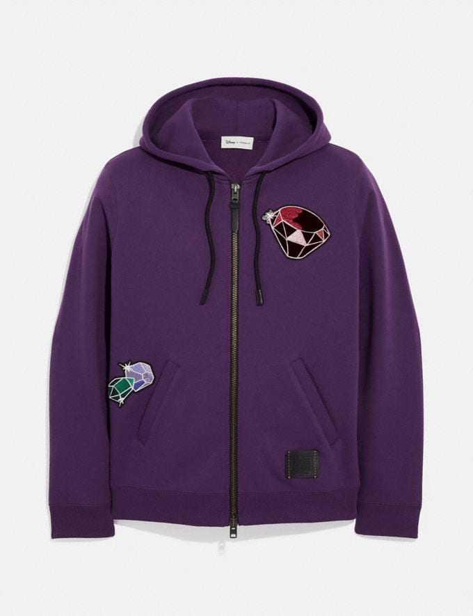 Coach Disney X Coach Dopey Hoodie Purple Staff Sale