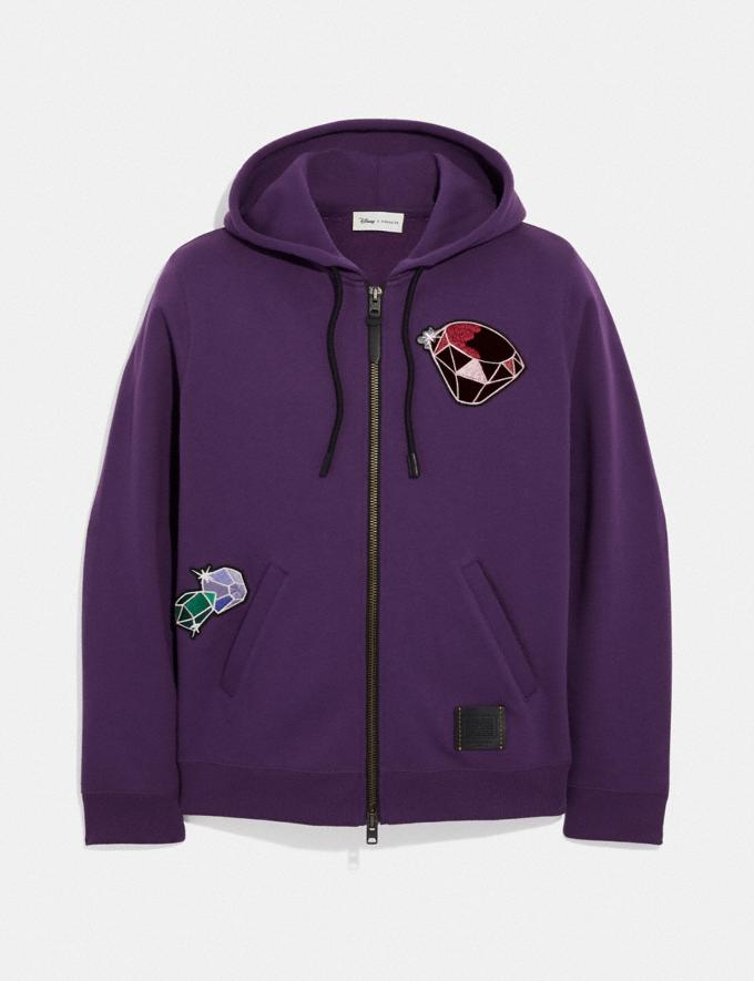 Coach Disney X Coach Dopey Hoodie Purple Staff Sale Alternate View 1