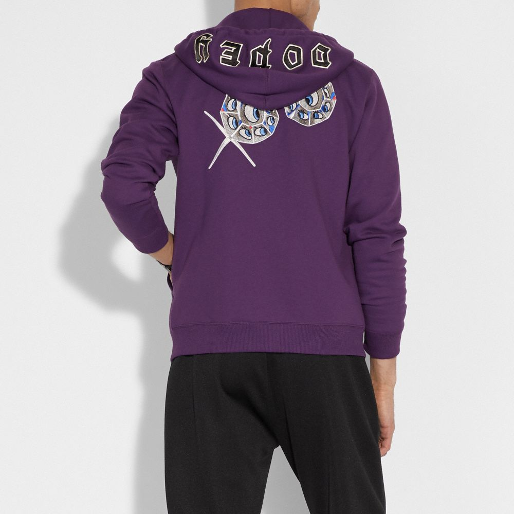 Coach Disney X Coach Dopey Hoodie Alternate View 2