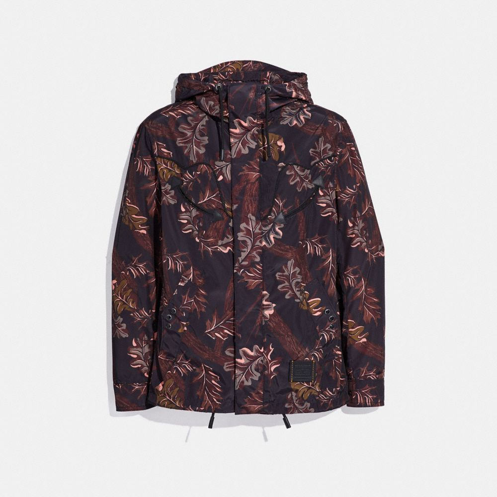Coach Printed Windbreaker