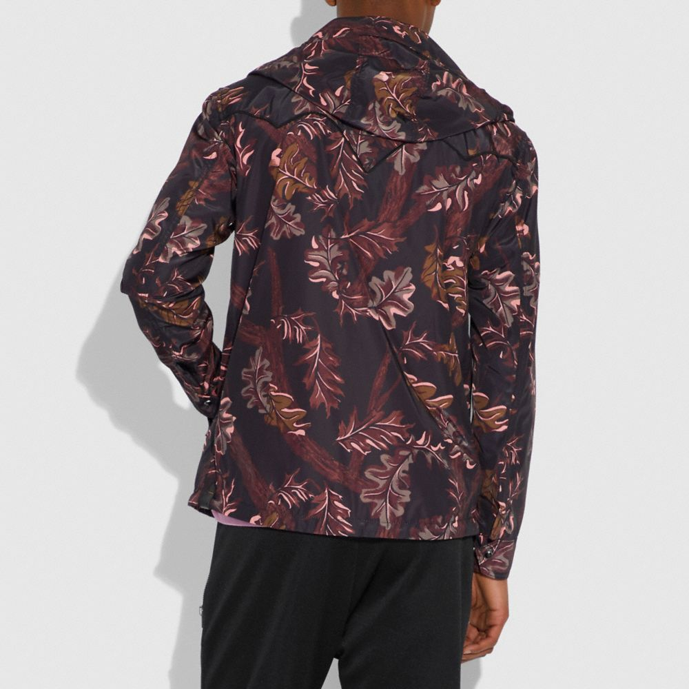 Coach Reversible Printed Windbreaker Alternate View 2