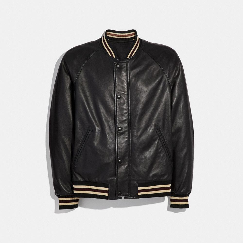 Coach Reversible Leather Souvenir Jacket