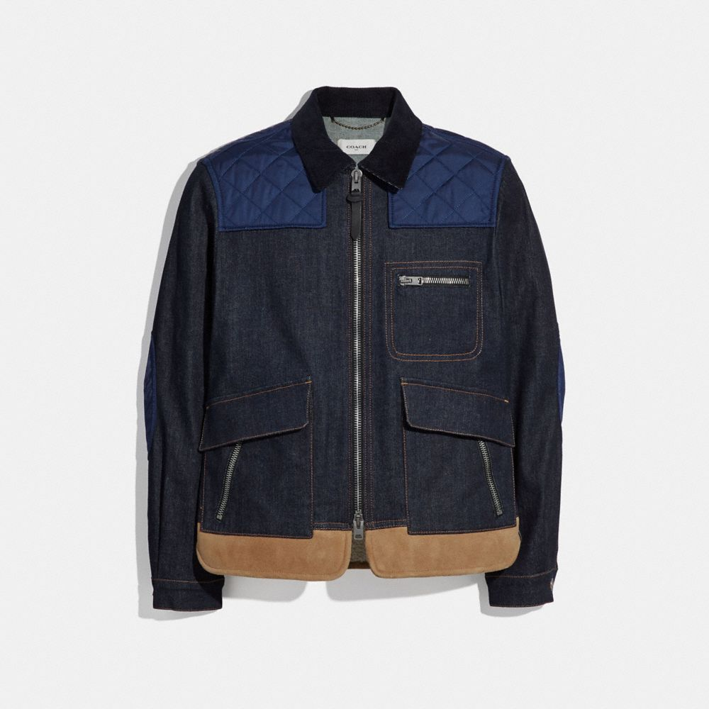 Coach Short Denim Jacket