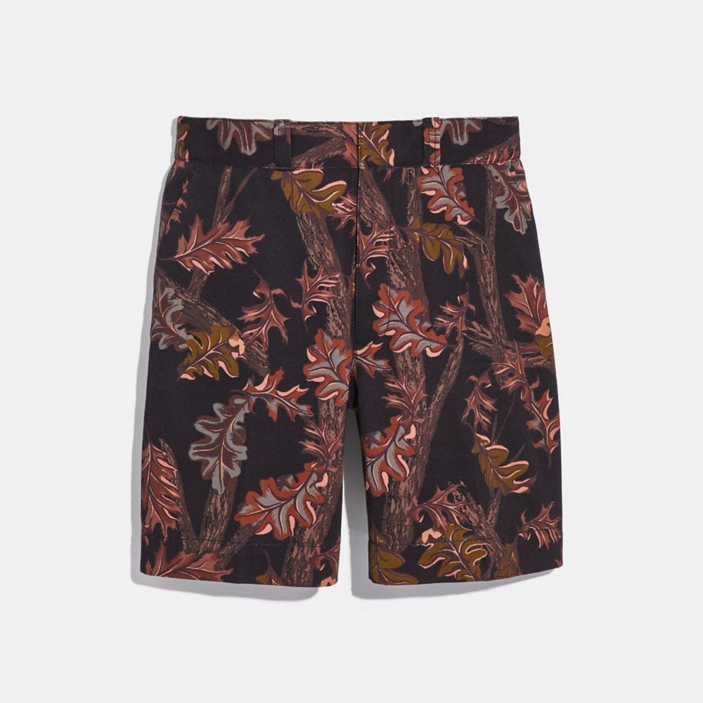 Coach Printed Shorts