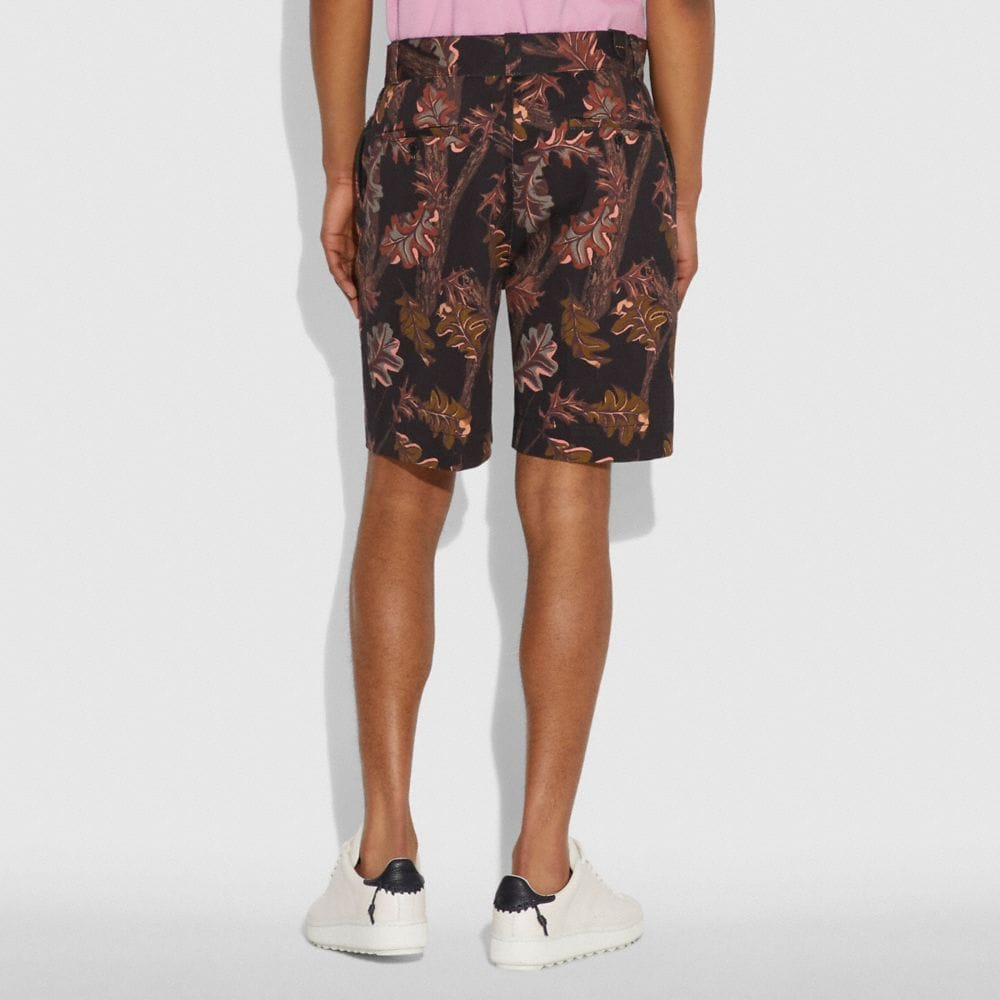 Coach Printed Shorts Alternate View 2