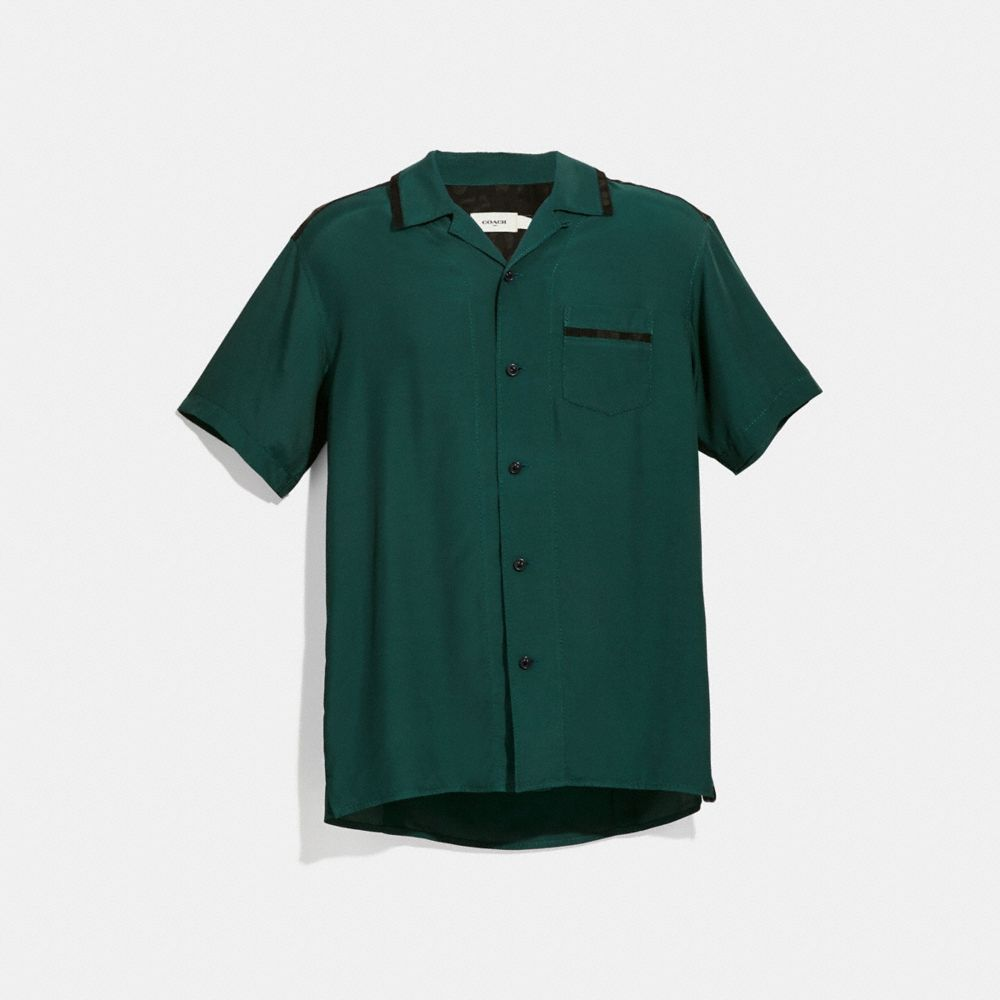 Coach Solid Short Sleeve Shirt