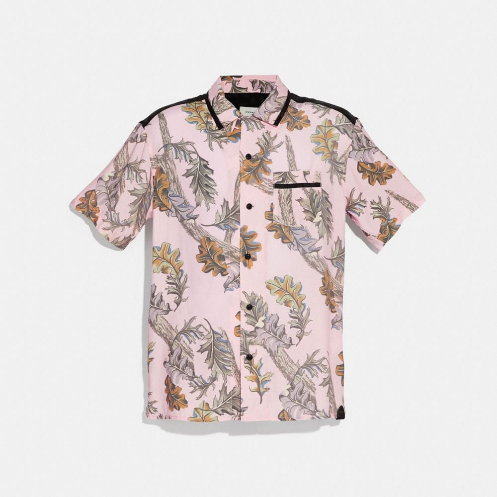 Coach Printed Short Sleeve Shirt