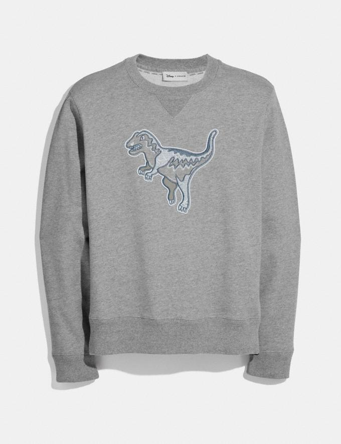 Coach Embellished Rexy Sweatshirt Heather Grey Men Ready-to-Wear Tops & Bottoms