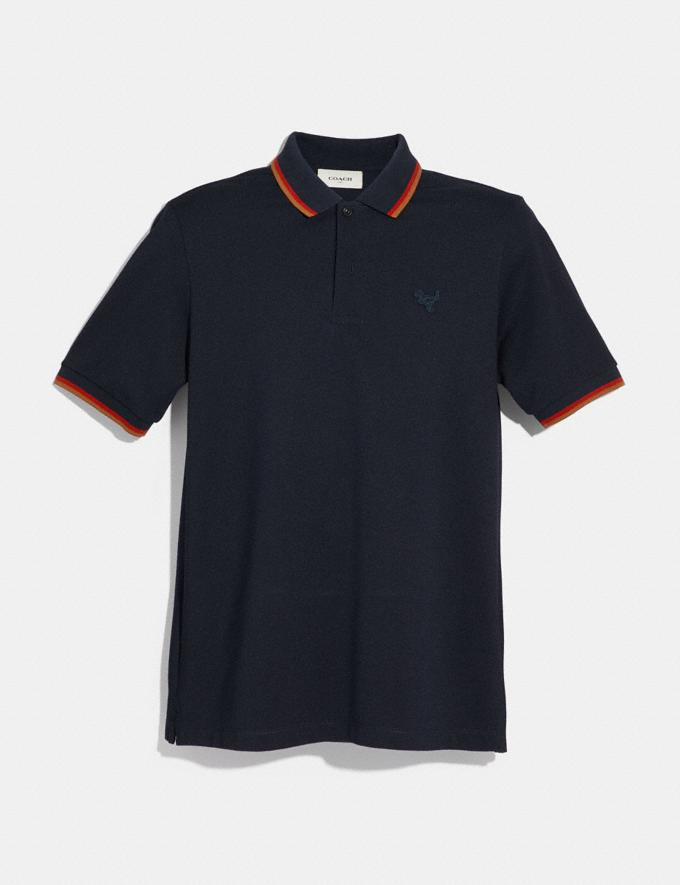 Coach Rexy Patch Polo Red