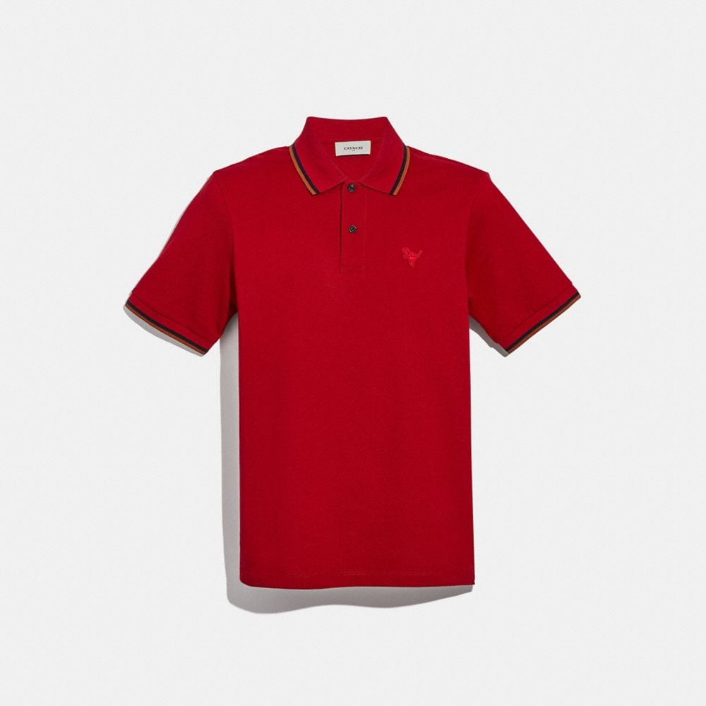 Coach Rexy Patch Polo