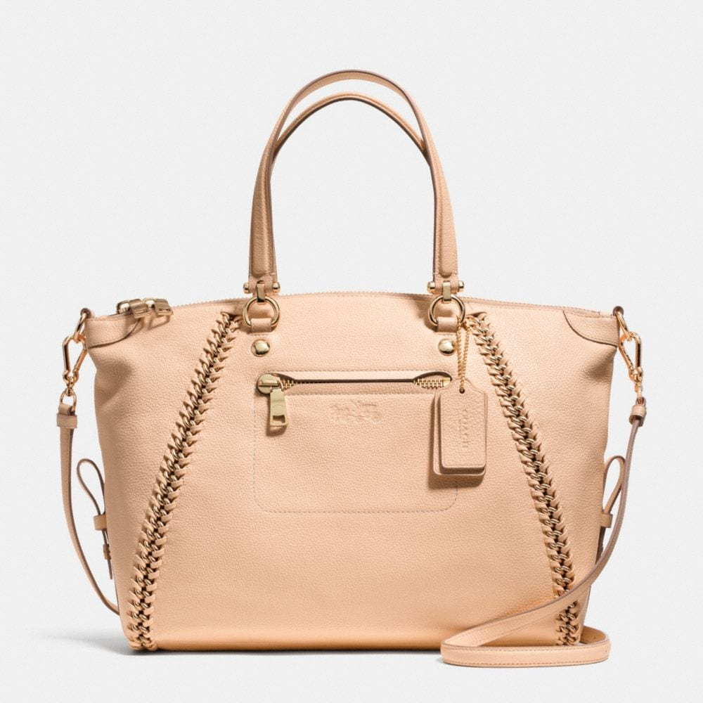 Prairie Satchel in Whiplash Leather
