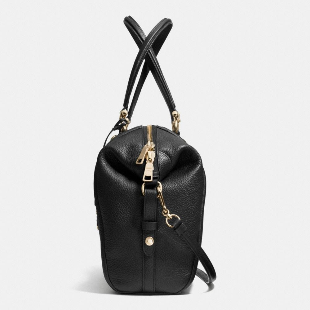 Prairie Satchel With Chain in Pebble Leather - Autres affichages A1