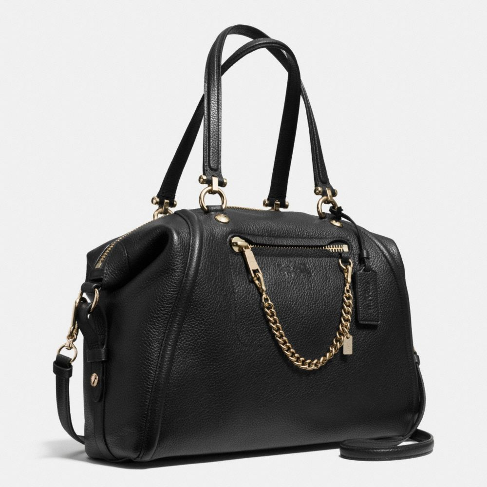 Prairie Satchel With Chain in Pebble Leather - Autres affichages A2