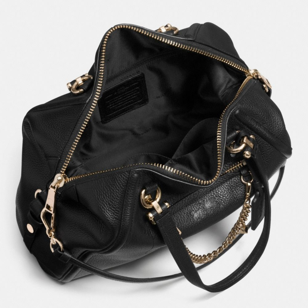 Prairie Satchel With Chain in Pebble Leather - Autres affichages A3