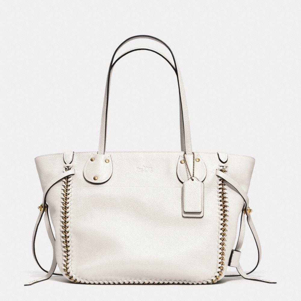 TALL TATUM TOTE IN WHIPLASH LEATHER