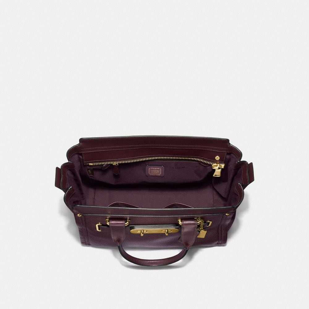 Coach Coach Swagger Carryall in Pebble Leather Alternate View 2
