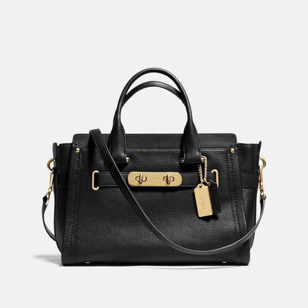 Coach Coach Swagger Carryall in Pebble Leather