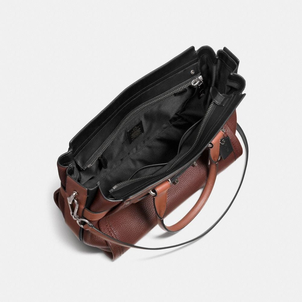 COACH SWAGGER IN COLORBLOCK LEATHER - Autres affichages A3